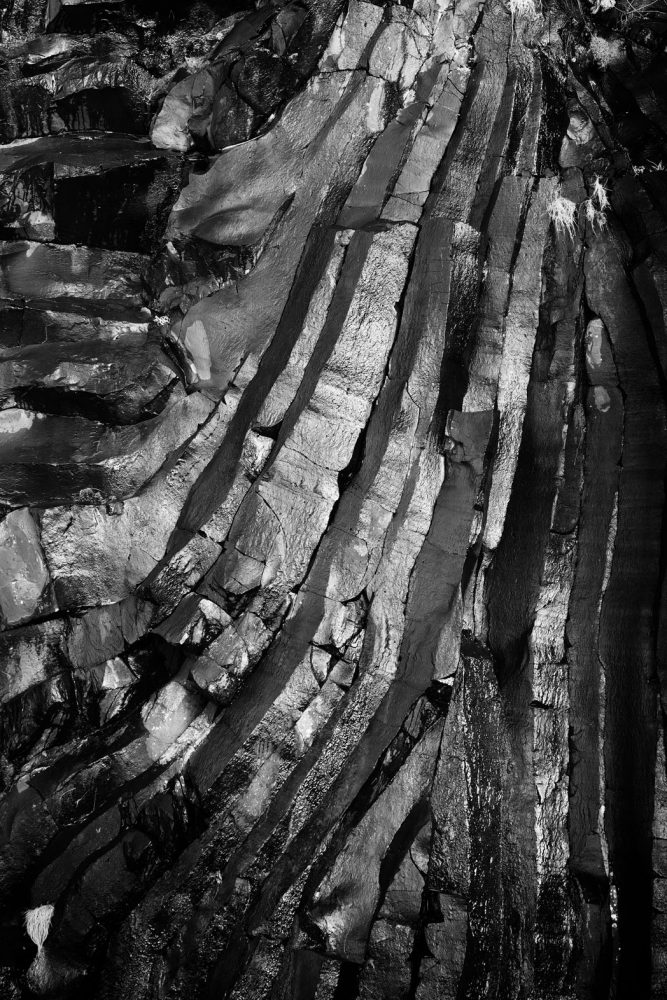 Basalt Structure Burg, Isle of Mull