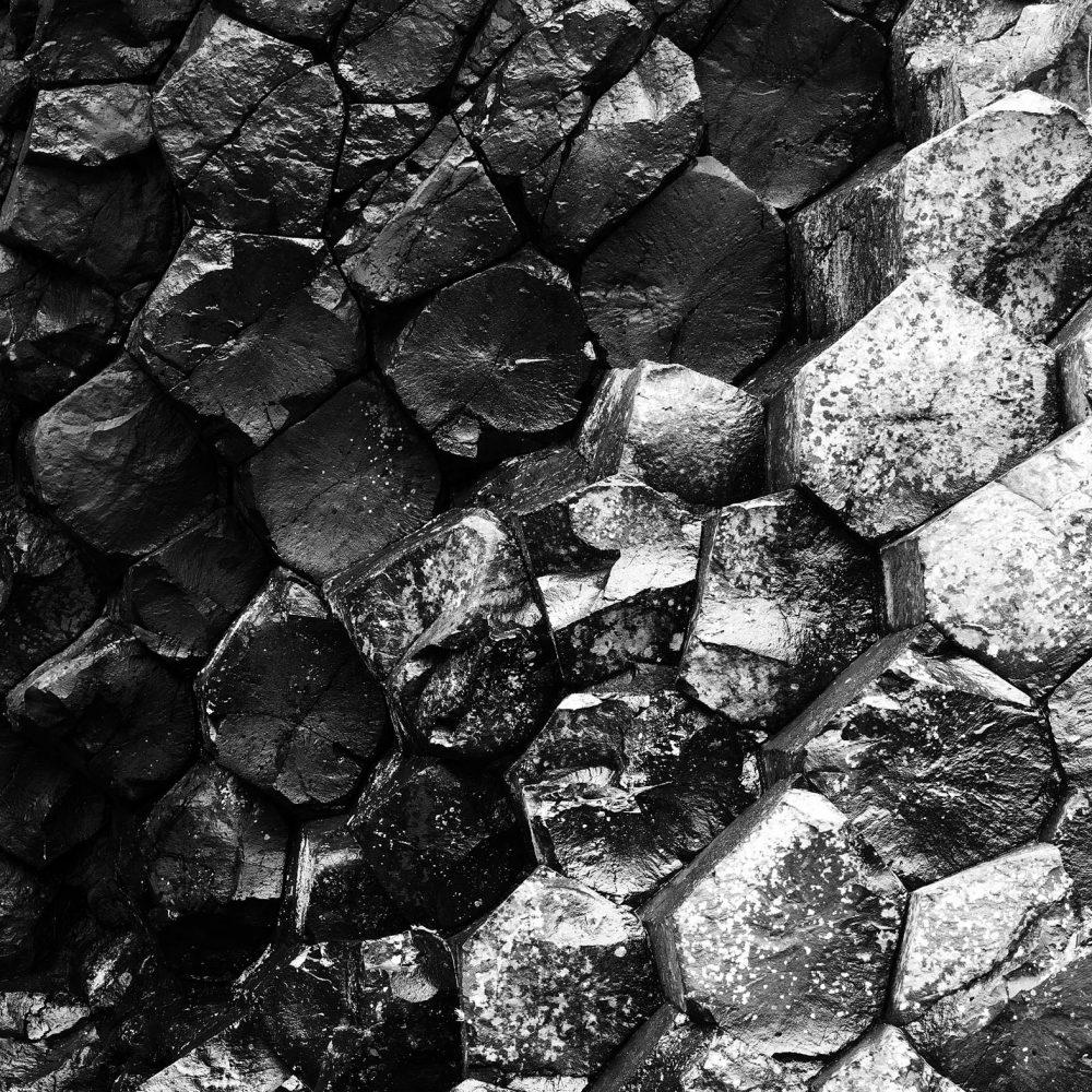 Basalt wall, Ardtun