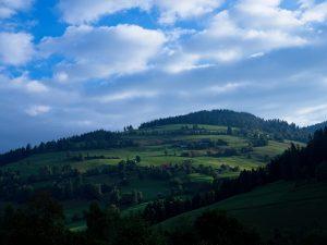 Mountains surrounding Allgau
