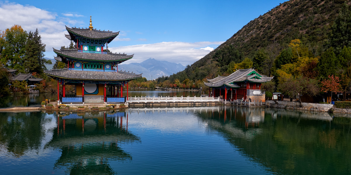 Jade Black Pool Lake, Lijiang - Fuji XE-3 with 16mm ƒ/1.4