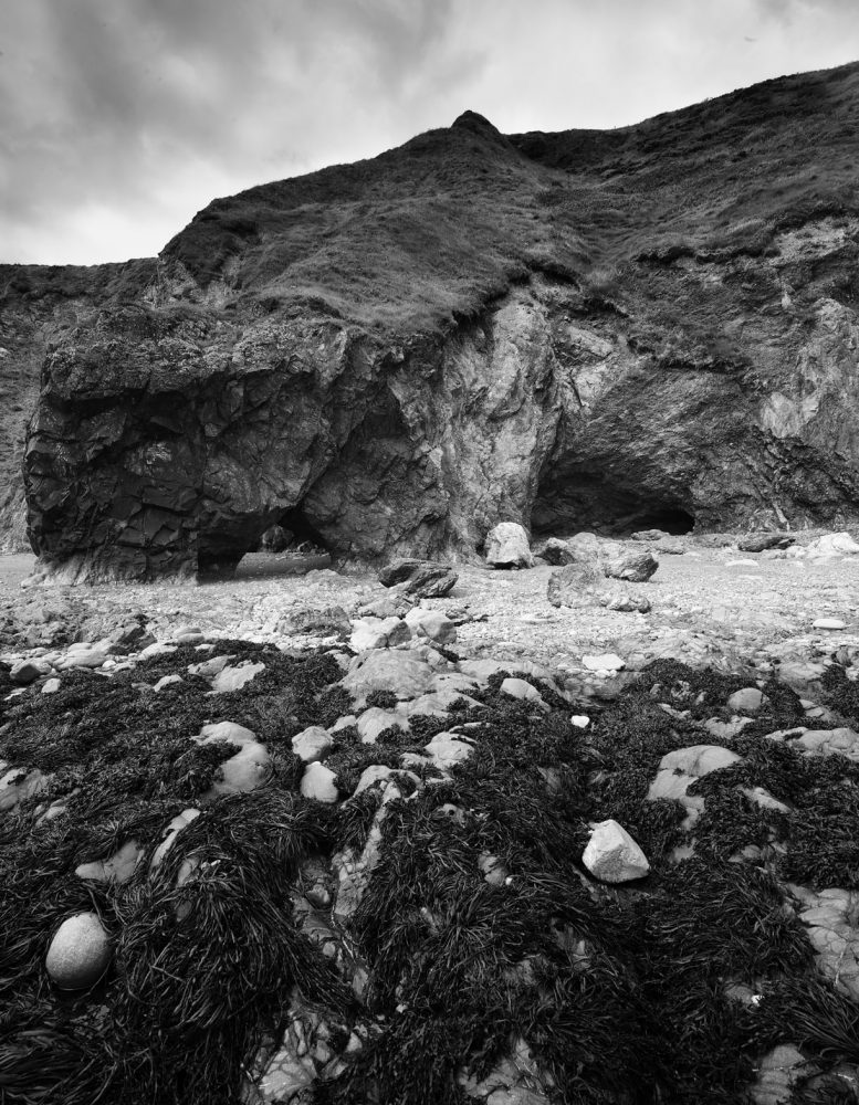 Sea Arch and Cave - Annestown, Waterford