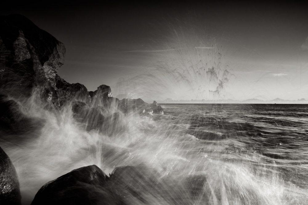 Sea spray at dawn #1
