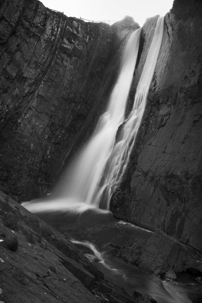 Speke's Mill Upper Waterfall #1, Hartland