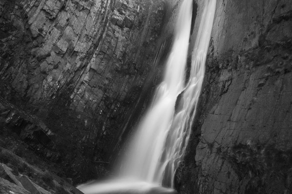 Speke's Mill Upper Waterfall #2, Hartland