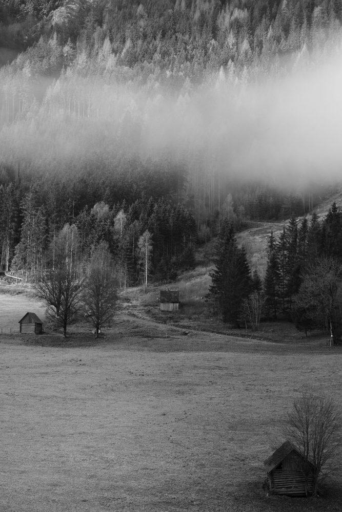 Städel und Bäume, Obertal