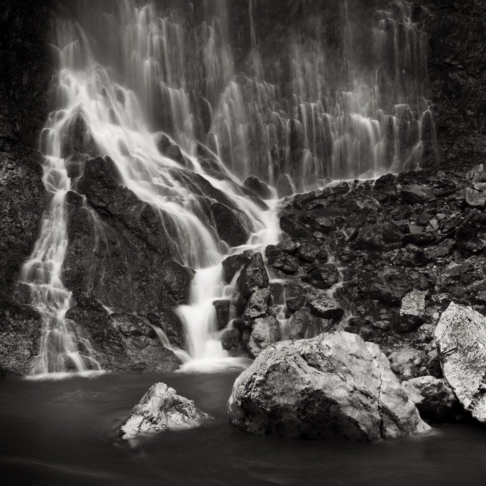 Tiefenbachklamm Wasserfall