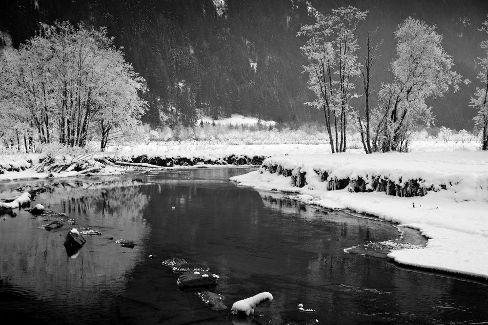 Winter river, Untertal